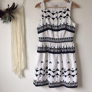 JCrew | Roller Girl Linen summer a-line Dress